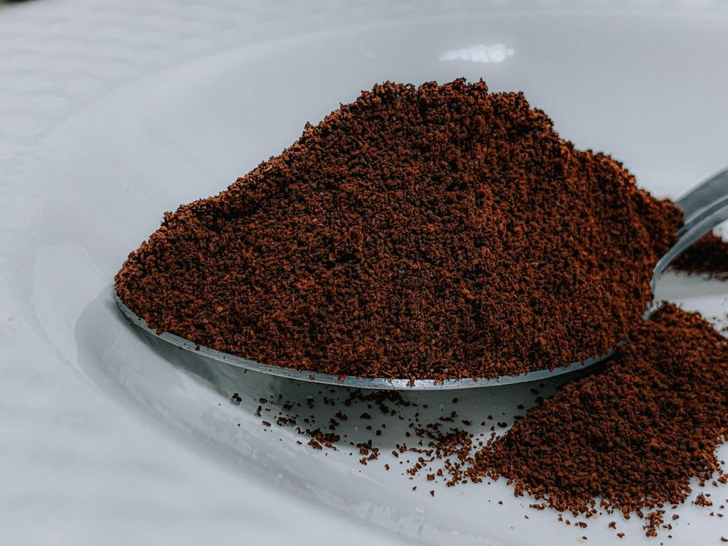 Image of some ground coffee.