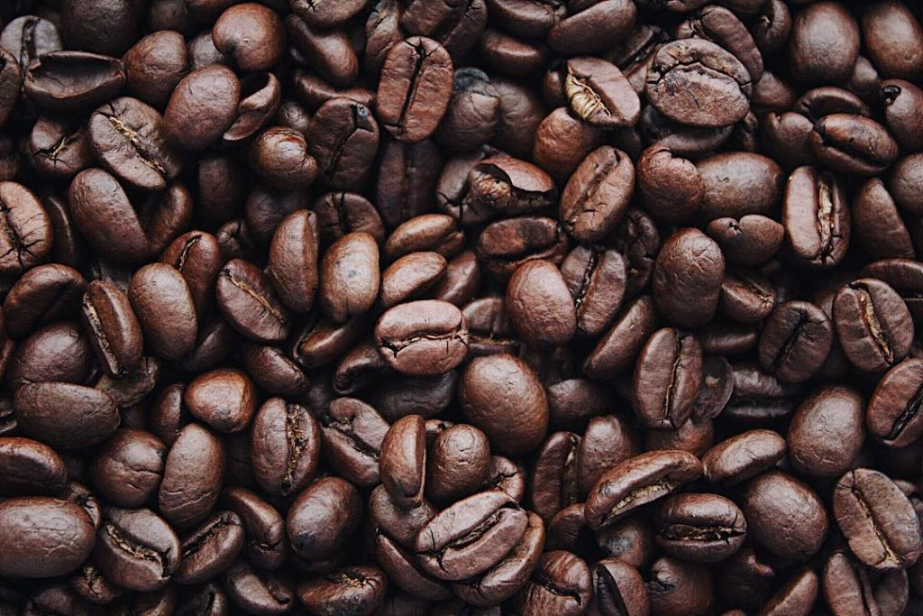 Image of some coffee beans.
