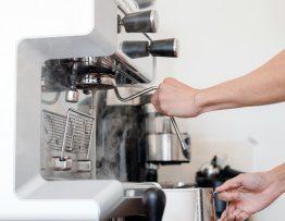 Image of a home coffee machine.