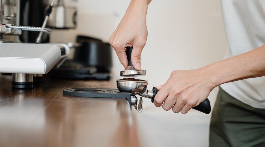Image of an Espresso Tamper.